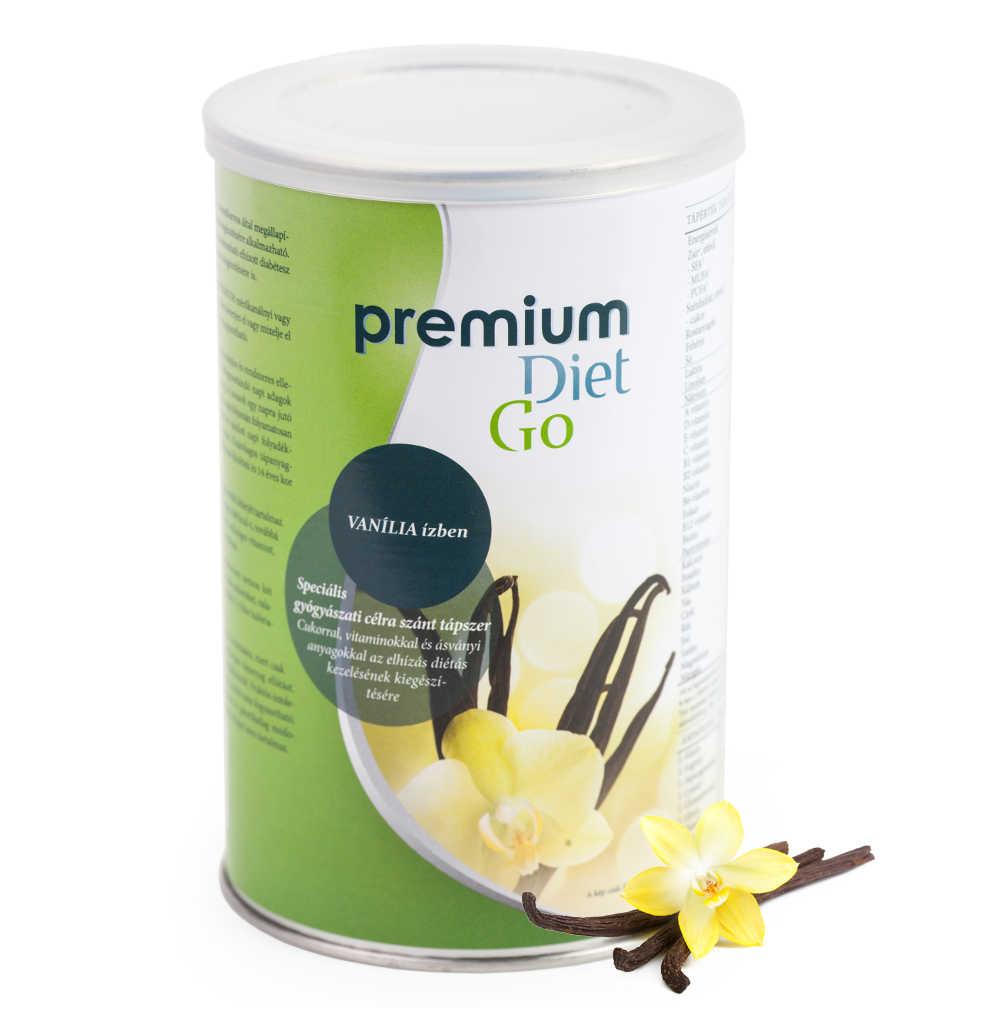 Premium Diet Go - vanília ízben - jópatikus