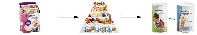 Hatékony zsírégetés Premium Diet termékekkel -jopatikus.hu