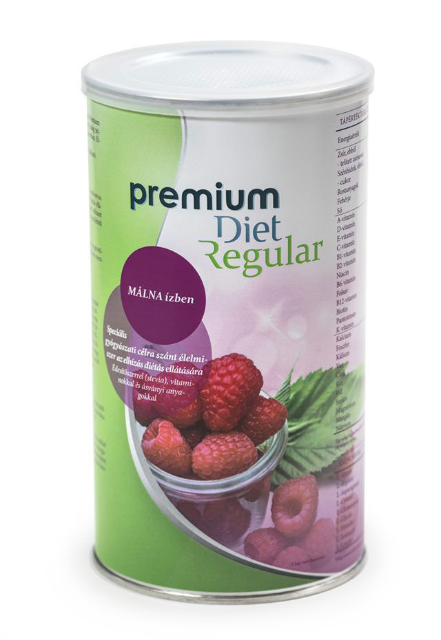 Premium Diet Regular - őszibarackos fogyókúrás shake