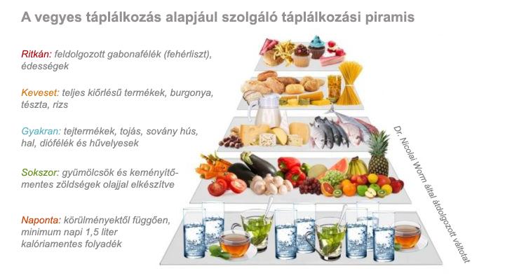 Táplálkozási piramis -jopatikus.hu